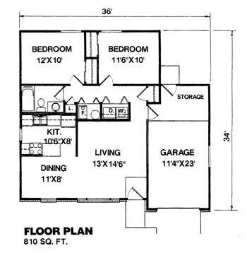 Denah Rumah Minimalis Modern Type 70 - Rumah Minimalis