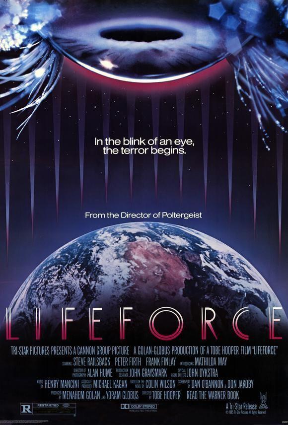 Lifeforce (1985) - Mathilda May DVD