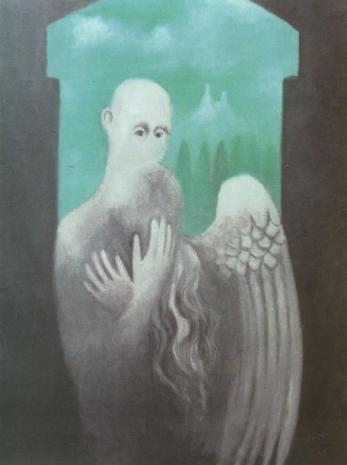 Obraz Smutný anděl
