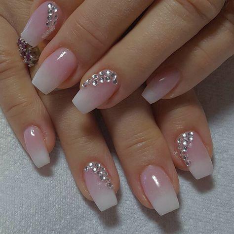 60+ Nail Art pour Mariage Idées Mariage – #Art #Brides #Idées #Ongles #nails #We …   – Nagel Design Ideen