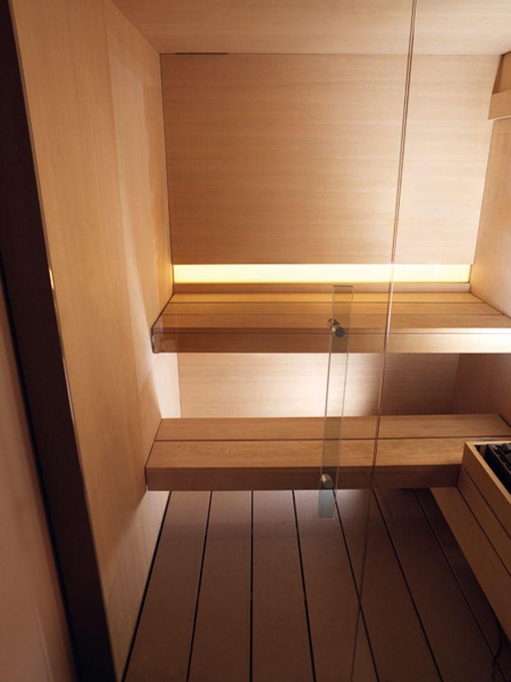 David B vous propose ce magnifique sauna, idéal pour se détendre et se relaxer. #sauna #design #maison