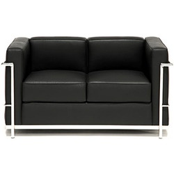 This is classified as an International Style sofa because it is a simple. It is also enhanced with steel.