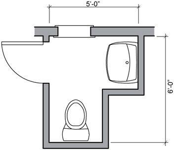 Half Bath Floor Plan Ideas