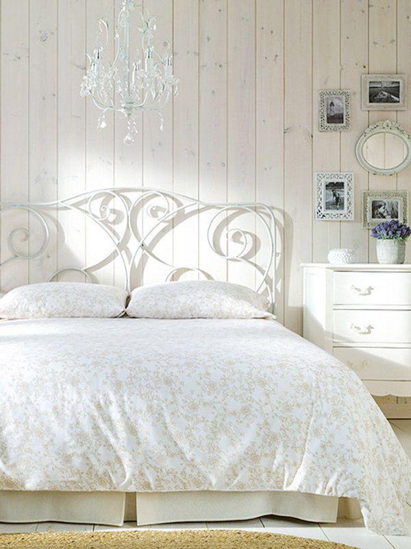Recrea el estilo romántico en tu dormitorio