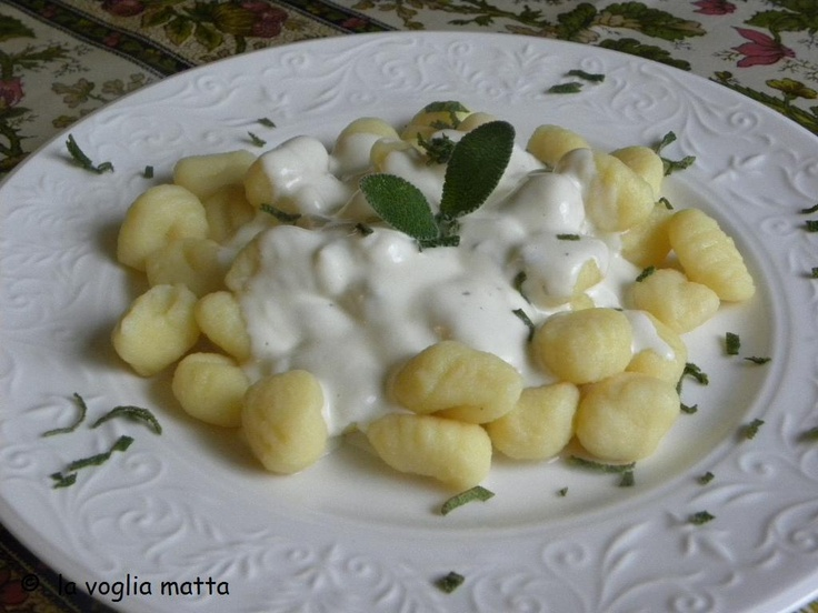 Gnocchi al Puzzone di MOENA - Trentino, Italy #cheese #Moena #vegetarian