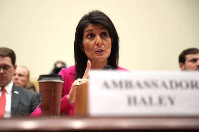 Nikki Haley issues sharp rebuke to UN on limits of its authority over United States