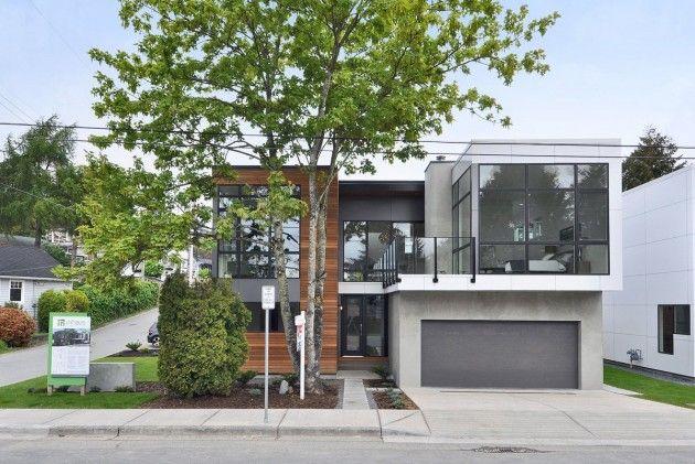 Beachaus I by PB Elemental. White Rock, BC.Contemporary Home, Leed Platinum, Beach House, Dreams Home, White Rocks, Modern Interiors, Modern House, British Columbia, Pb Elements