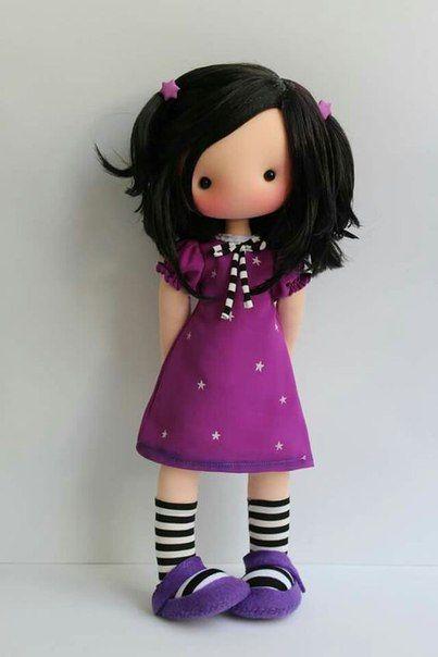 Como hacer muñecas bonitas de tela