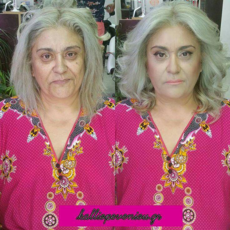 Η κάθε ηλικία έχει την δική της ξεχωριστή ομορφιά!   #makeup #kalliopeveniou #viphall #trusttheexperts