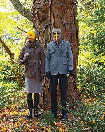 Bird Mask DIY. Halloween Mask DIY. Halloween Costume DIY