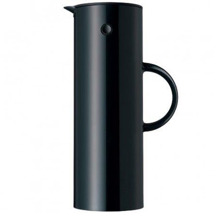 Stelton Isolierkanne schwarz