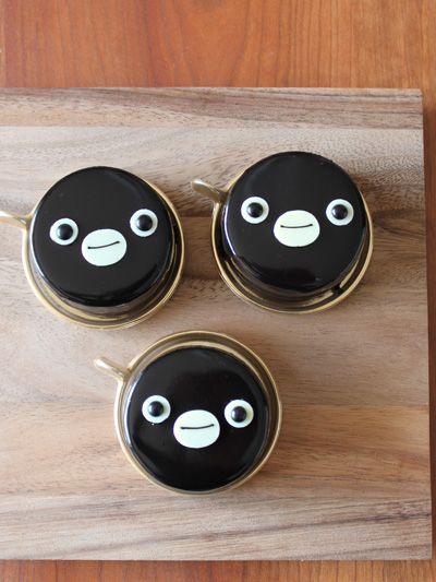 Lovely Penguin Cake by Hotel metropolitan in Tokyo