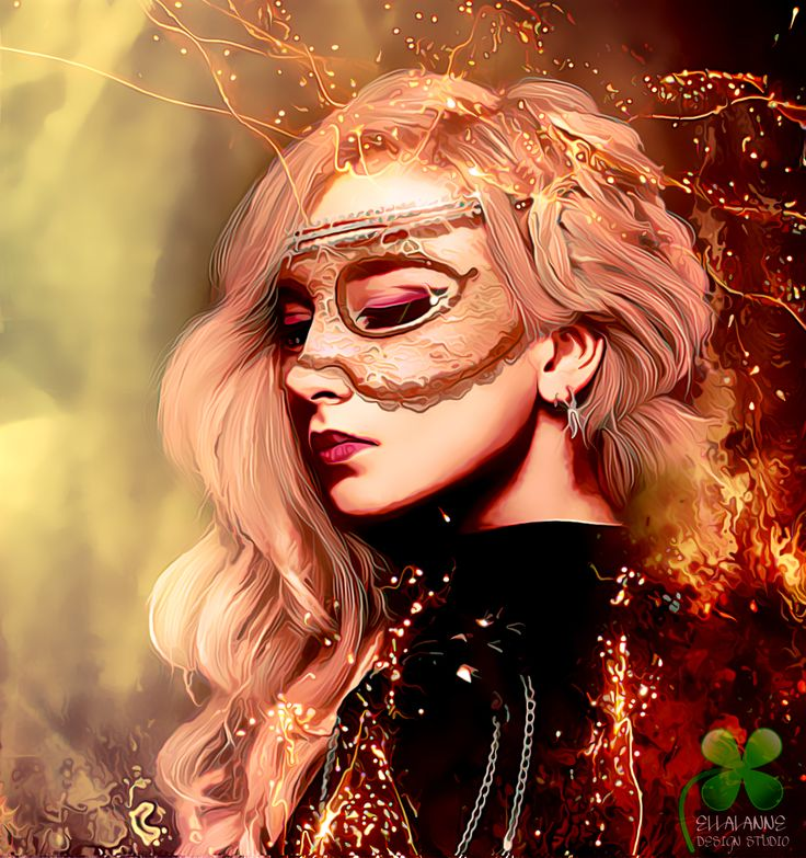 The Fire In My Soul Reject My Wisdom ... #ellalanne #ellalannedesignstudio #digitalart #digitalpainting #artwork #artist #designer #creative #photomanipulation #fire #mask #firework