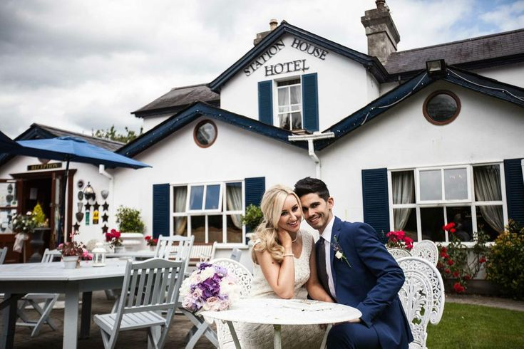 The Station House Hotel - Wedding Venue in Kilmessan, Meath, Leinster, Ireland.
