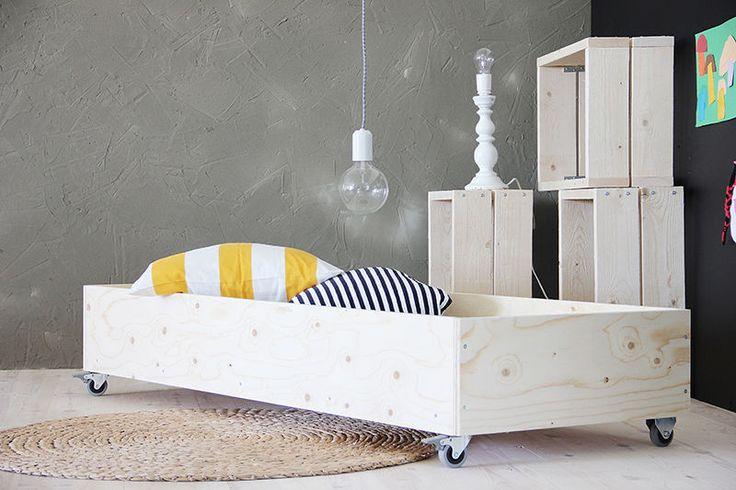 Simple bed | Luonashop