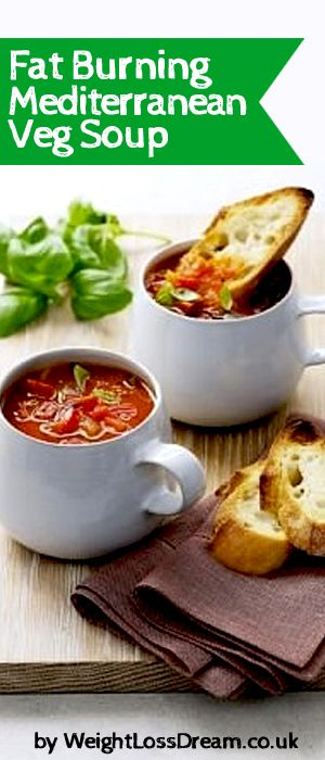 Here is my Fat Burning Mediterranean Veg Soup as featured on my 7 day detox diet.