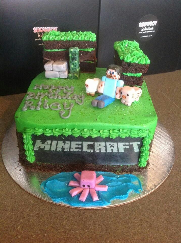 Minecraft Cake Cakes Pinterest Happy Birth Day