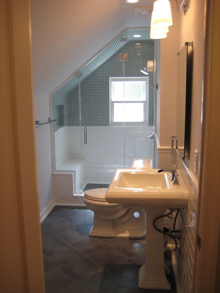 tiny attic bathroom ideas - 17 Best ideas about Small Attic Bathroom on Pinterest