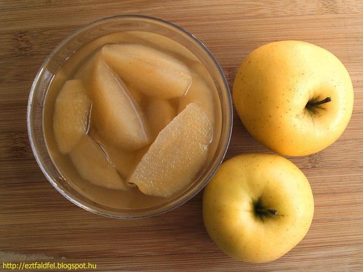 Ezt fald fel!: Klasszikus almakompót, mert mi így szeretjük