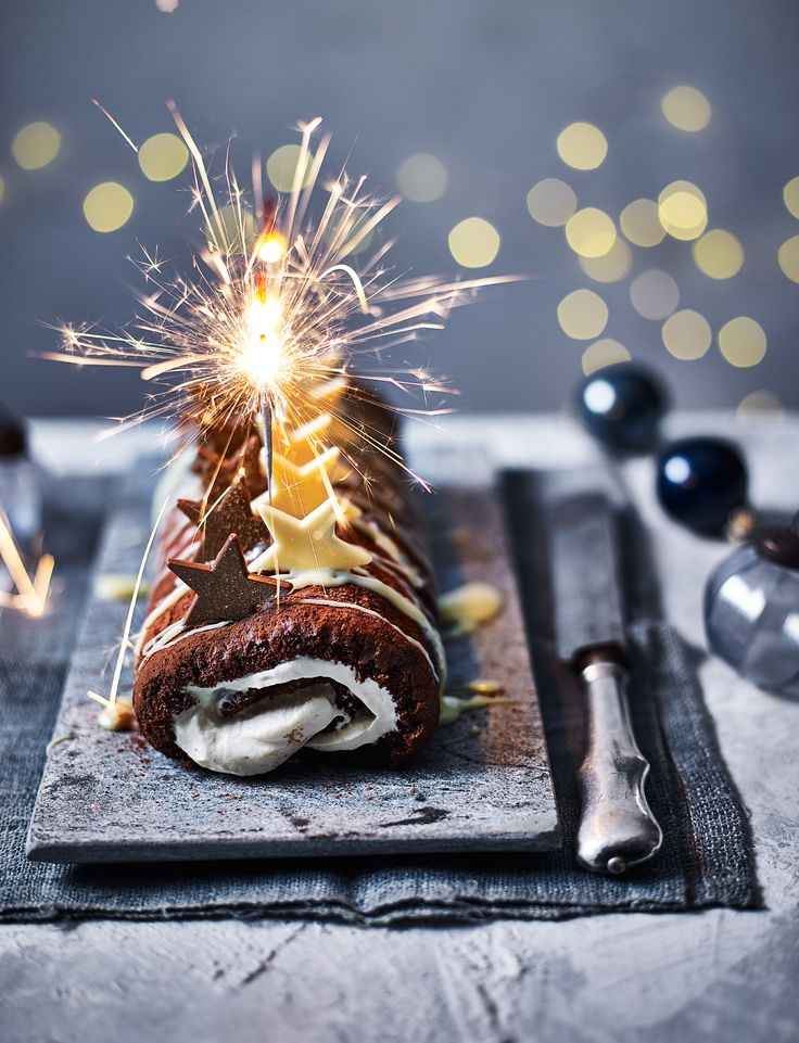 We've taken the classic festive drink and rolled it into a scrumptious Christmas dessert. Don't miss our Baileys and chocolate roulade recipe