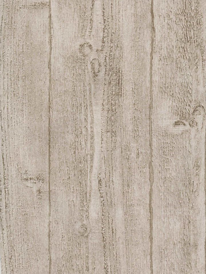 Interior Place Beige Rustic Textured Old Wood Wallpaper