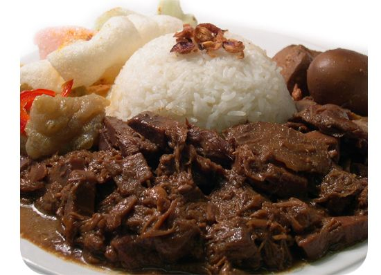 Gudeg - a specialty of Central Java, and one of my favorite dishes!