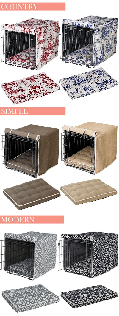 Whatever your style, find the crate cover and mattress to match your home decor at Felix Chien!