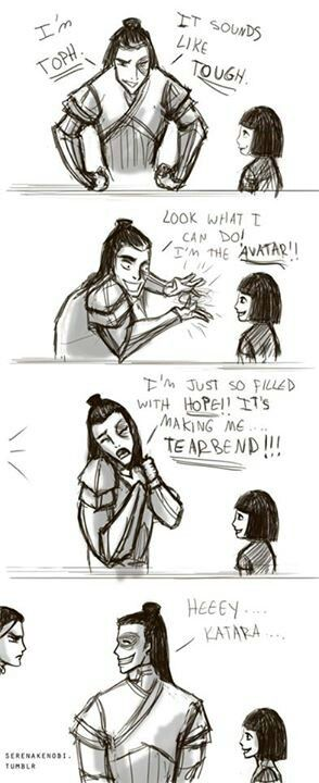 Zuko and Honora | Teaching her about his friends. | The Last Airbender | Avatar