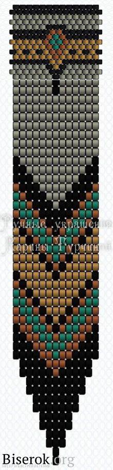 серьги команчи схема, длинные серьги с бахромой схема, мозаика, кирпичное плетение, низание мастер-класс