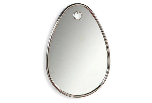 Decorated Mantel: Mirror, Mirror