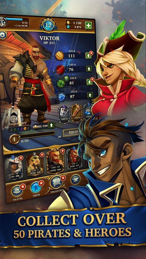 Saber's Edge - Puzzle RPG- screenshot