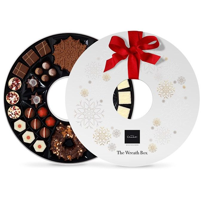 2015 Christmas Wreath produced for @hotelchocolat