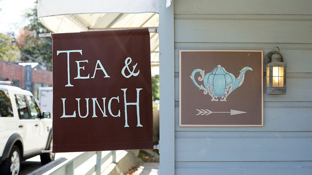 """Harney & Sons (Millerton, NY).  Loose leaf teas for the tasting.  If you go for lunch (limited seating) get the """"Mimi"""".  A delicious tomato, mozzarella sandwich with pesto on whole grain bread.  My fav."""