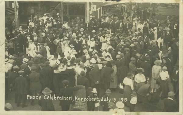 Peace celebration, Kerrobert, July 19, 1919 | saskhistoryonline.ca