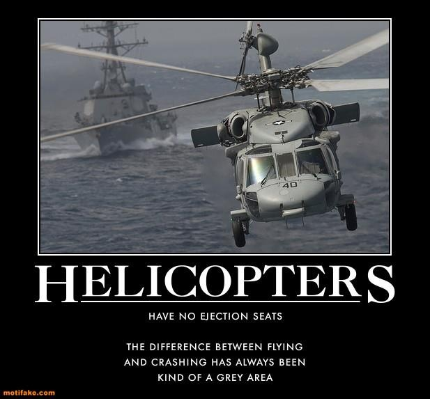 HELICOPTERS Have No Ejection Seats | Helicopters ...