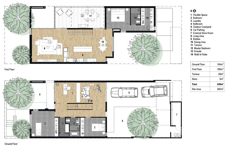 29 best townhouse floor plans images on pinterest floor for 3 bedroom townhouse plans