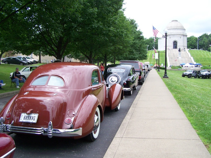 Our 11th Annual Cruisin' Thru History Car Show is THIS SATURDAY (June 23, 2012) at the McKinley Presidential Library & Museum in Canton, Ohio.  There is no fee to view the cars, so come on down!  Lovely views of the McKinley National Memorial, the final resting place of the President, his wife, and two young daughters.