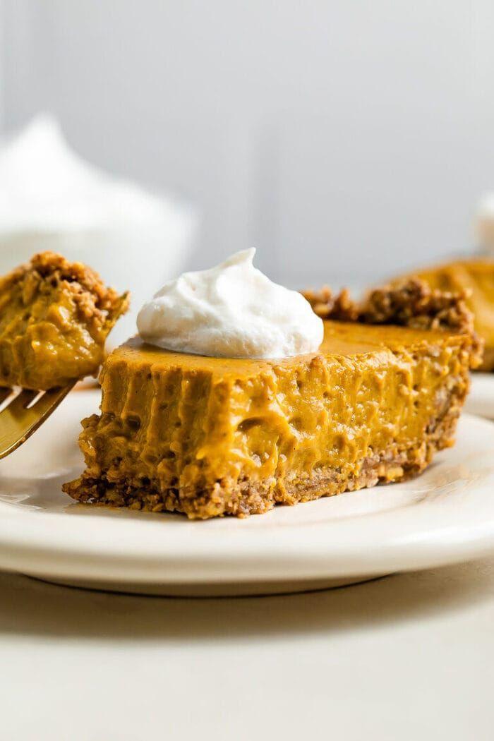 Vegan Pumpkin Pie With Tofu Gluten Free Eating Bird Food Recipe In 2020 Vegan Pumpkin Vegan Pumpkin Pie Vegan Pumpkin Pie Recipe