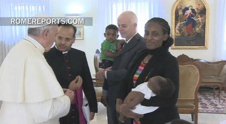 Julio de 2014: Francisco celebra Misa con víctimas de abusos