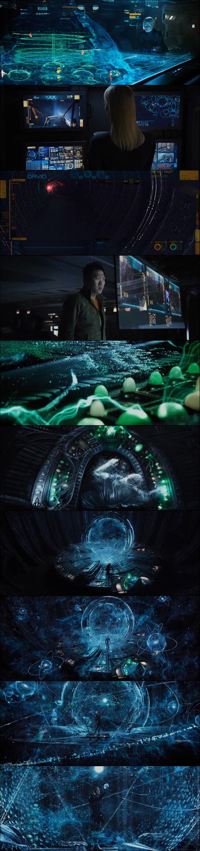 Prometheus [2012] directed by #RidleyScott [] [] [] UI [] sci fi user interface design []