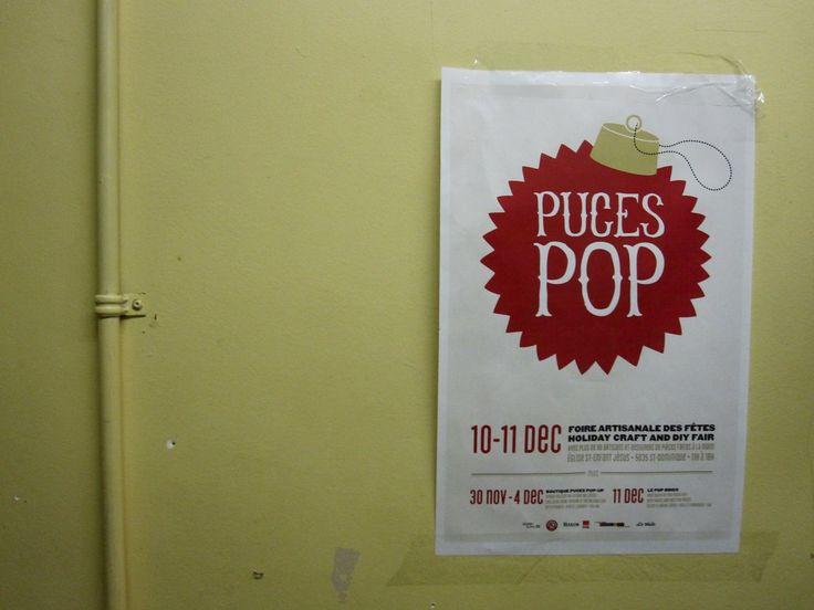 La foire artisanale des fêtes Puces Pop, un événement à ne pas manquer !