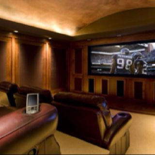 Basement Ideas Theater Room For The Home Pinterest
