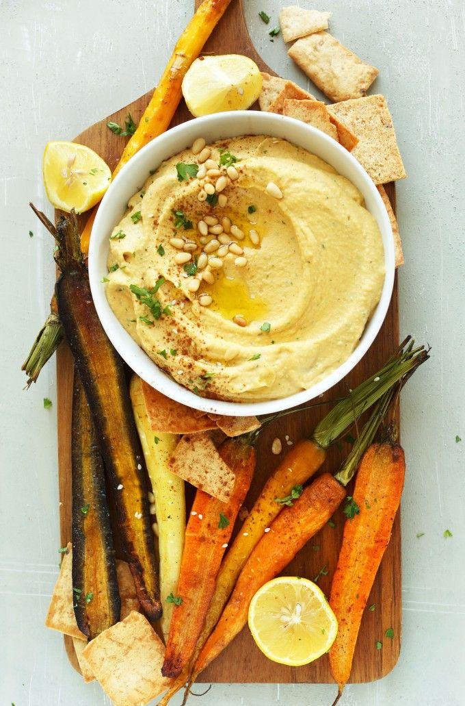 Butternut Squash Hummus / #minimalistbaker