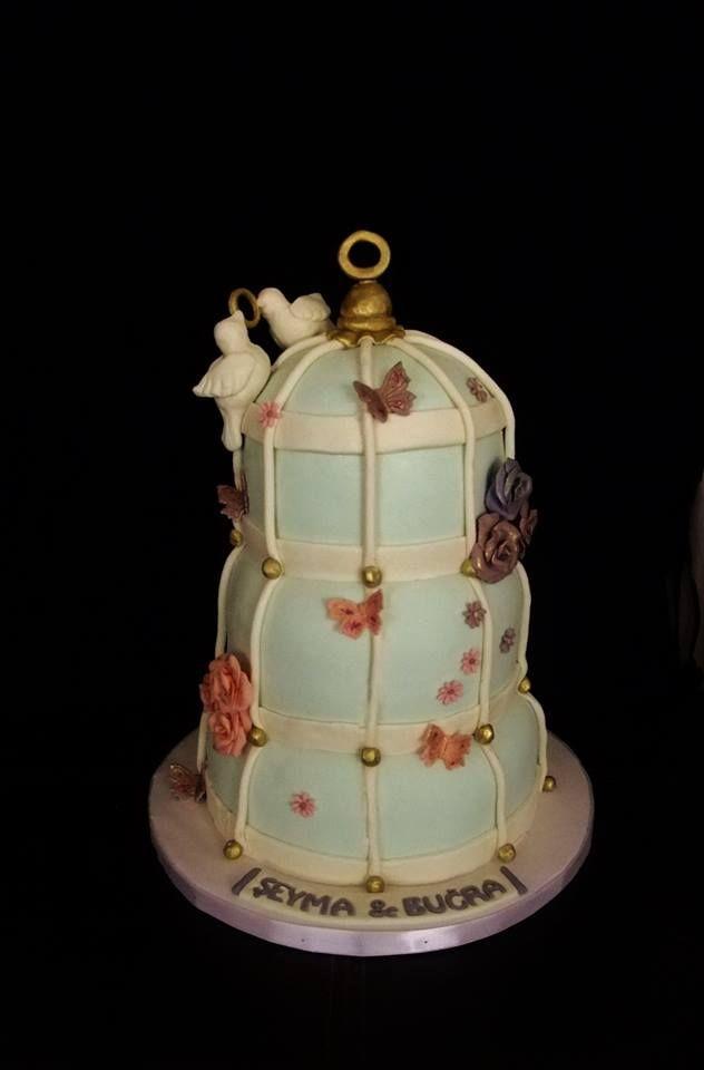 Kuş kafesi pastası