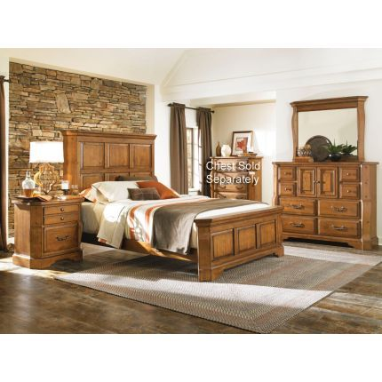 """""""Canyon Ridge"""" Collection 6-piece Queen Bedroom Set 