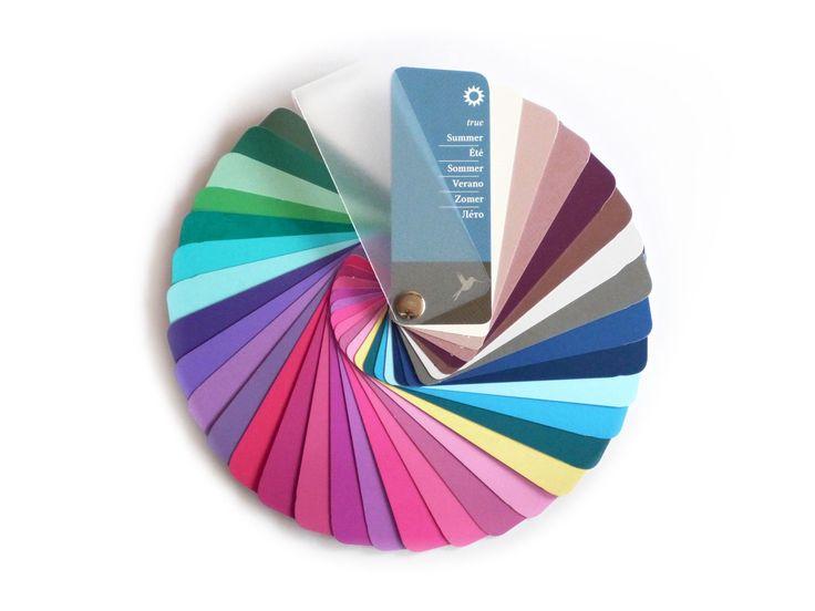 21 besten Profi-Farbpass mit 35 Farben ab 21,90 u20ac Bilder auf - farben test farbtyp einrichtung
