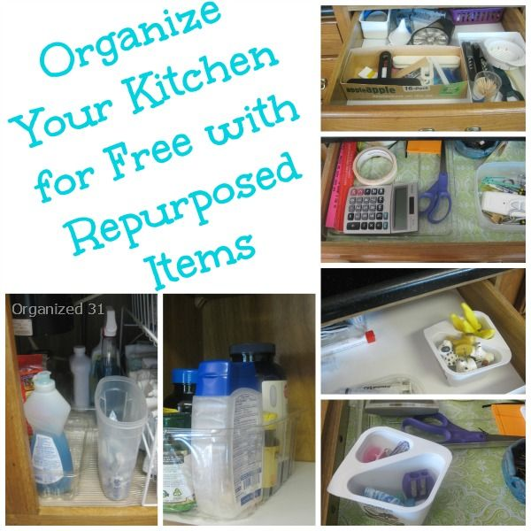 Organized Kitchen from Organized 31 – Guest post