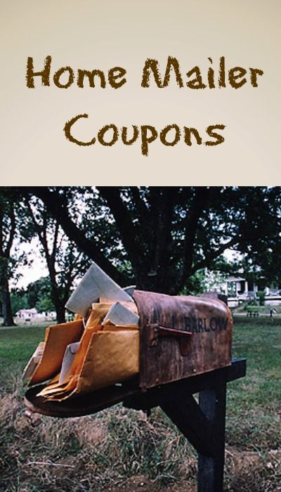 Everything you need to know and more about great home mailer coupons!