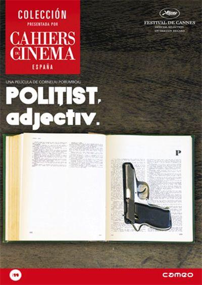 Politist, adjectiv (2009) Romanía. Dir.: Corneliu Porumboiu. Drama - DVD CINE 1932
