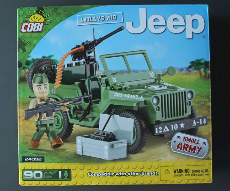 Cobi Small Army Willys MB Jeep - World War 2 block building set #Cobi